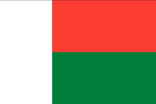 Drapeau de Madagascar - DR : Wikipedia