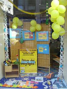 Nice : Contact Voyage décroche le Concours vitrine de la ''Faites des Voyages !''