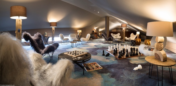 The decoration of the boutique-hotel Le Taos is inspired by aboriginal esthetic - Photo : Studio-Bergoend.com