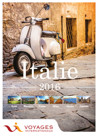 La nouvelle brochure Voyages Internationaux dédiée à l'Italie - Photo DR VI