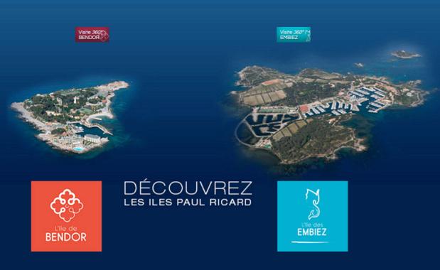 Les Iles Paul Ricard organiseront une journée de recrutement le 2 mars prochain - Photo Capture écran du Site