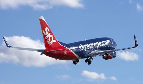 SkyEurope étoffe son réseau cet été