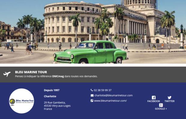 Bleu Marine Tour est désormais référencé sur DMCMag.com - Capture d'écran