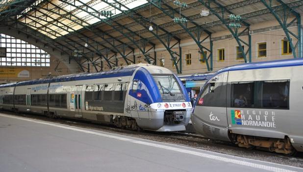Le trafic des TER est fortement perturbé en Normandie ce mercredi 24 février 2016 - Photo : Wikipedia