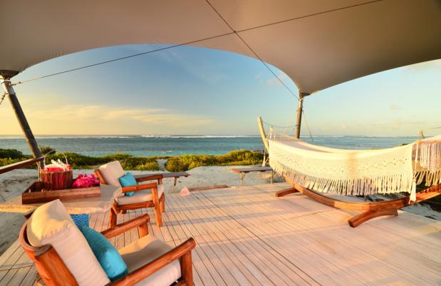 Tentes de luxe au Anegada Beach Club