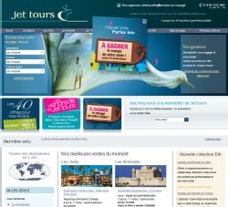 Jet Tours : nouvelle version de son site web grand public