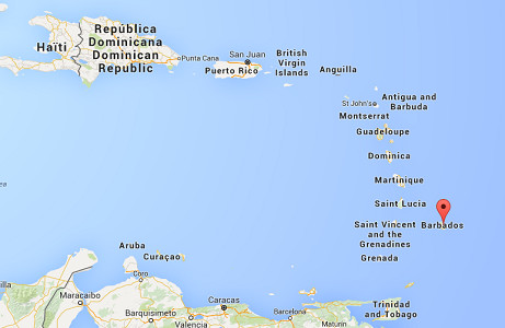 Le Quai d'Orsay recommande aux femmes enceintes de reporter leurs voyages à La Barbade - DR : Google Maps