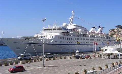 L'Orient Queen à Nice pour sa première croisière au départ de ce port