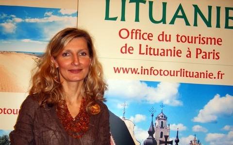 Inga Lanchas, la directrice de l'Office de Tourisme de Lituanie