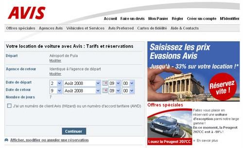 Le site d'Avis France fait peau neuve