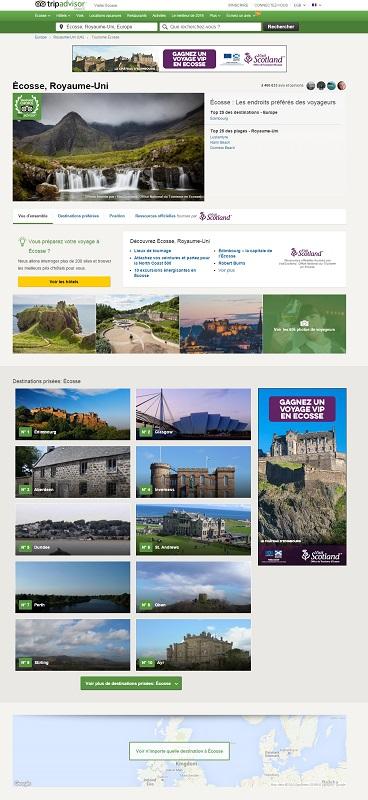 TripAdvisor lance une offre pour les offices du tourisme