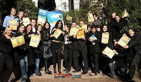 Les élèves du BTS Tourisme Cannes ont décroché la palme du dynamisme pour cette 1ère édition de la ''Faites des Voyages !''