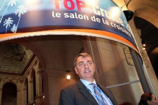 Patrick Gaudfrin, avec ses 25 000 clients annuels, est le leader français de la vente en ligne de croisières