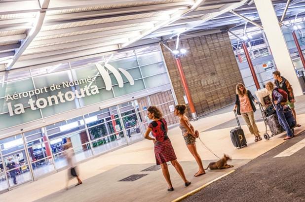 Aeroport Tontouta de Nouméa en Nouvelle Calédonie © S.Ducandas_NCTPS