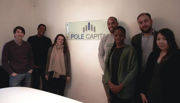 Les premiers startuppers qui ont intégré l'Ecurie : l'incubateur du fond d'investissement Pole Capital. DR Johanna Gutkind