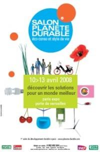 Salon Planète Durable® ouvre ses portes à Paris