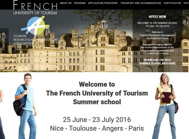 La French University of Tourism - AsTRES lance une première école d'été internationale