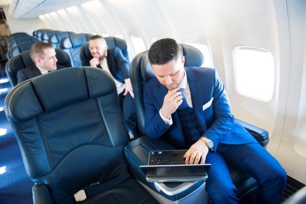 L'intérieur de l'appareil configuré en classe affaires pour Ryanair - Photo Ryanair