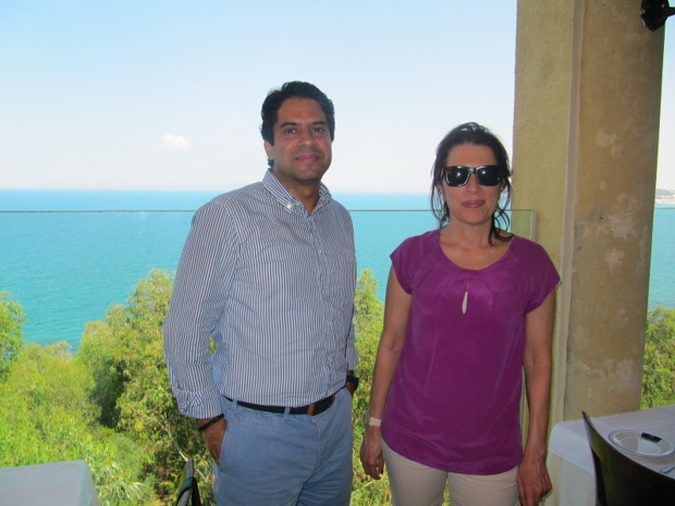 Anis Meghirbi (à gauche), Directeur des Ventes et du Marketing, avec Rym Ben Fadhel Belajouza, Directrice générale de Seabel Hotels Tunisia - Photo P.C.