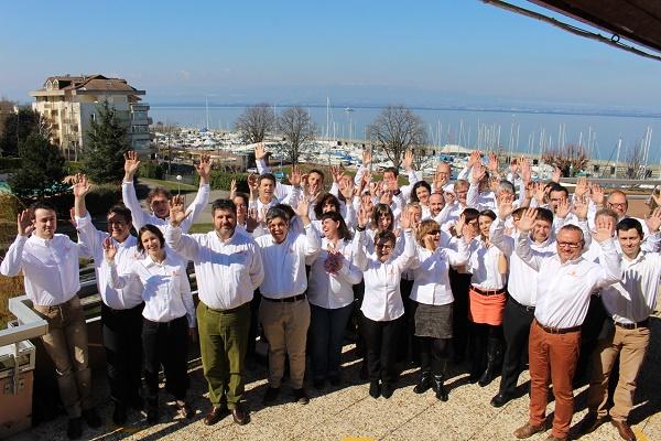 L'Assemblée générale annuelle de VVF Villages se tient à Evian-les-Bains jeudi 10 et vendredi 11 mars 2016 - Photo : VVF Villages