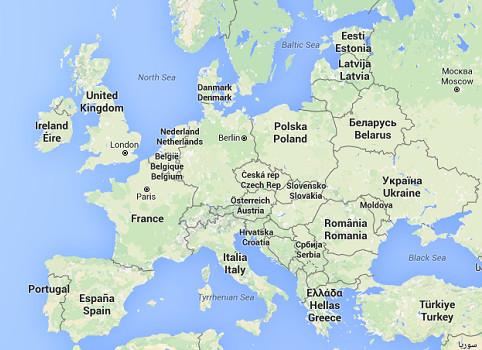 Les visiteurs péruviens n'auront plus à demander de visa pour des séjours de 90 jours maximum en Union européenne - DR : Google Maps