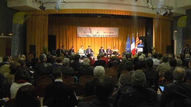 Christian Estrosi était présent à Montgenèvre pour la 2e réunion des 68 maires de l'ANMSM de la région PACA - Photo DR
