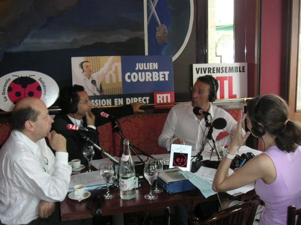 L'APS va engager un partenariat avec RTL, la radio la plus écoutée de France, en participant à l'émission de Julien Courbet « Ça peut vous arriver » - DR : APS