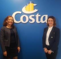 Rabea Aboutit et Séverine Courtillier - DR : Costa Croisières