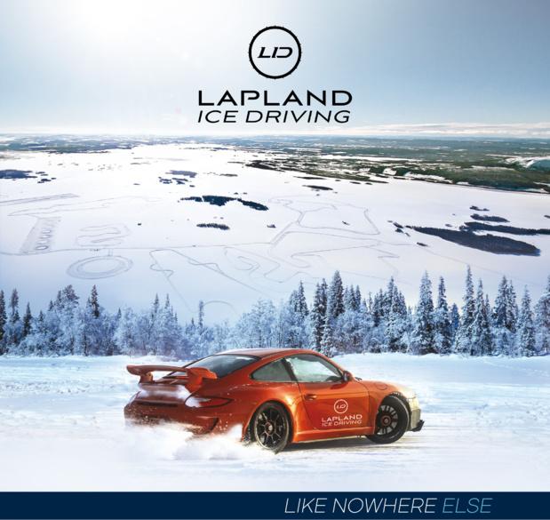 Nouvelle identité visuelle de Laponie Ice Driving - DR : Creads