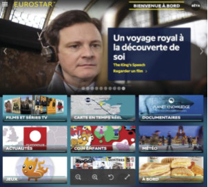Paris - Londres : Eurostar fait monter le wifi gratuit à bord de ses trains e320