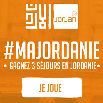 L'Office de Tourisme a lancé son jeu-concours #MaJordanie le 14 mars 2016 - Capture d'écran