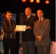Virtual Dive décroche le prix Tourism@ 2003