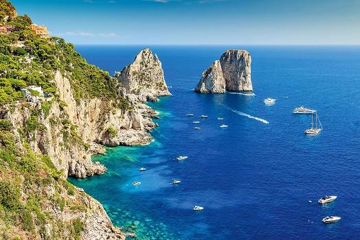 La programmation de Top of TRavel en Italie du Sud permettra aux clients du TO de découvrir les côtes amalfitaines et le Golfe de Sorrente - Photo : Top of Travel