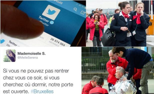 les hashtags #PorteOuverte et #OpenHouse lancés sur les réseaux sociaux (c) DR Capture Twitter
