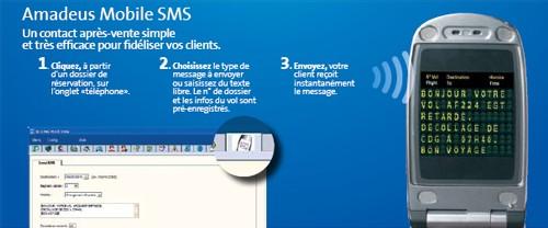 Amadeus fait la promo d'Amadeus Mobile SMS