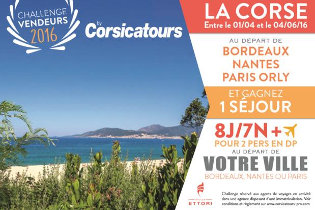 Corsicatours fait gagner un séjour 8 jours et 7 nuits