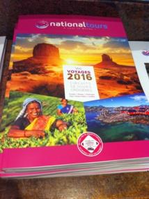 La brochure 2016 de Nationaltours. DR