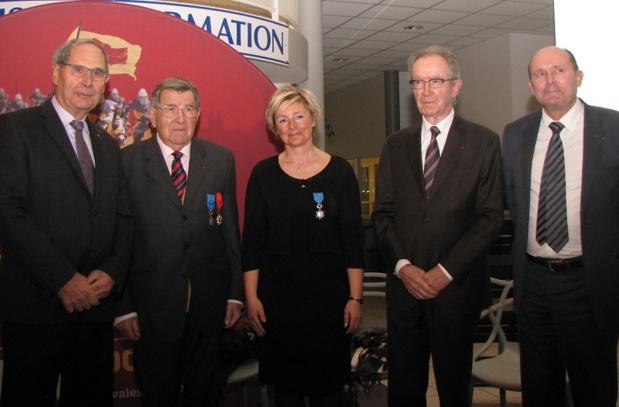 Aéroport de Caen-Carpiquet : Maryline Haize-Hagron promue dans l'ordre national du Mérite