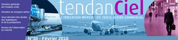 France : 20,1 millions de passagers aériens (+5,3 %) en février 2016