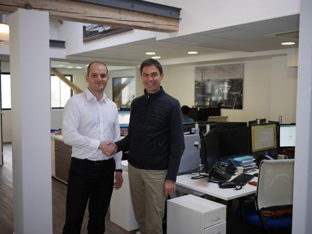 Jérôme Gratelle, CEO Air Indemnité et Marc Leidelinger, Président de Frequent Flyer Travel Paris - DR