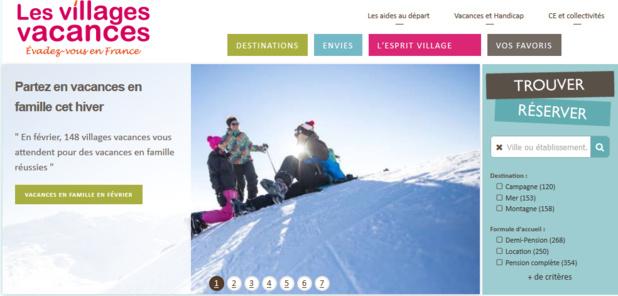 Le nouveau site Lesvillagesvacances.com - DR