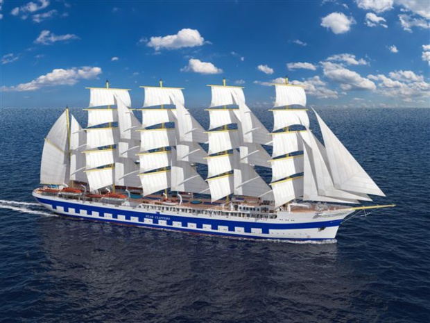 Le Flying Clipper, plus grand voilier du monde sortira des chantiers de Brodasplit (Croatie) fin 2017.