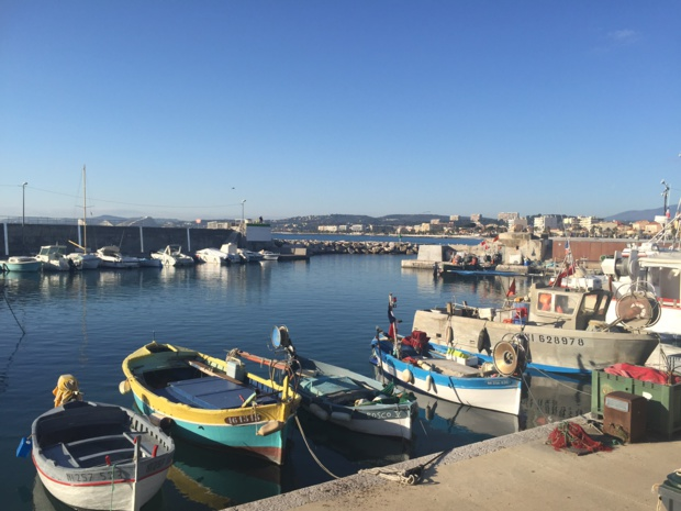 Fishermen's boats in  Cros-de-Cagnes (Photo: S.H.D.)