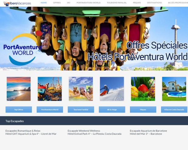 Pour IberoVacances, PortAventura fait figure de navire amiral - Capture d'écran