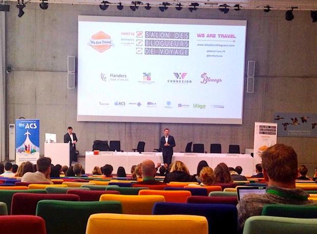 « We are travel » a réuni 170 blogueurs les 4 et 5 avril à Bruxelles (c) Johanna Gutkind
