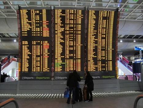 De nombreux vols pourraient encore être annulés la semaine prochaine - Photo : A.B.