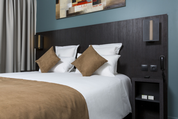 A new look for the 2 star rooms of the Balladins Hotel network