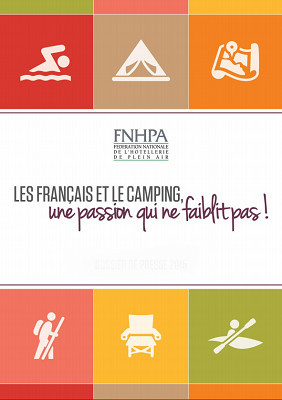 La fréquentation des campings de France continue de progresser - DR : FNHPA
