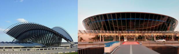 L'Etat projette de privatiser les aéroports de Lyon et de Nice - Photos : Wikipedia