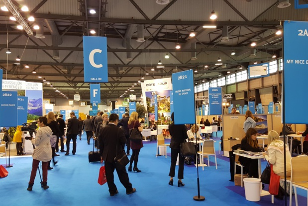The 11th edition of the trade-fair organized by Atout France, gathered 740 exhibitors and close to 900 tour-operators of 73 different nationalities - DR : A.B.